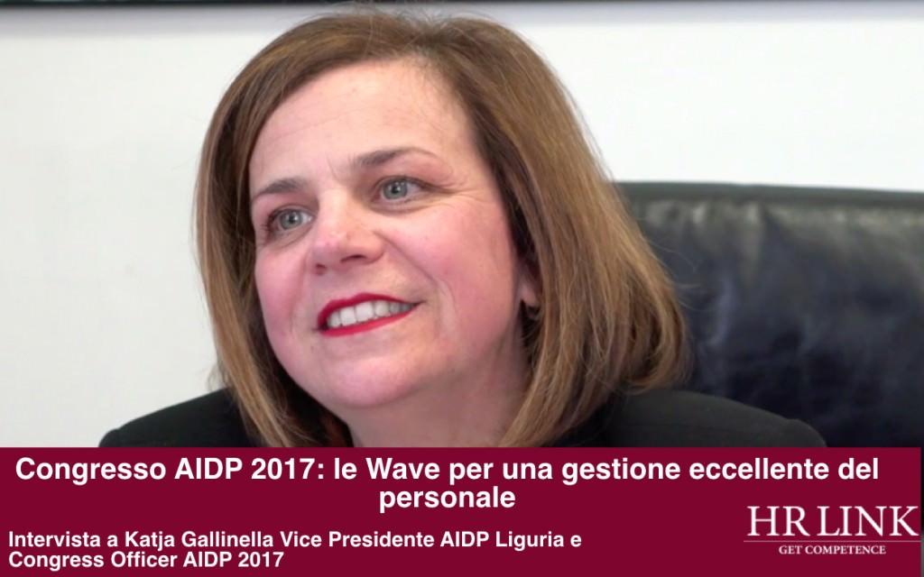Katia Gallinella Vice Presidente AIDP Liguria