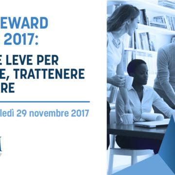 Total Reward Trends 2017: 29 novembre Roma