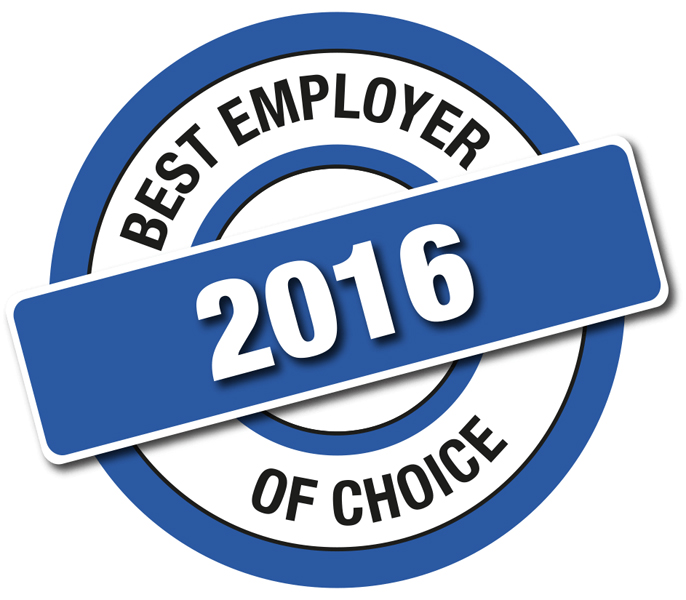 Best employer of choice 2016