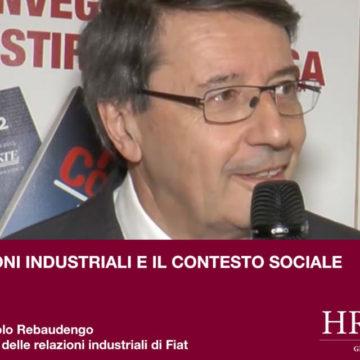 Relazioni industriali e contesto sociale