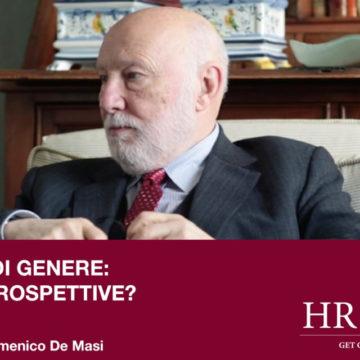 Parità di genere: quali prospettive? Intervista a Domenico De Masi