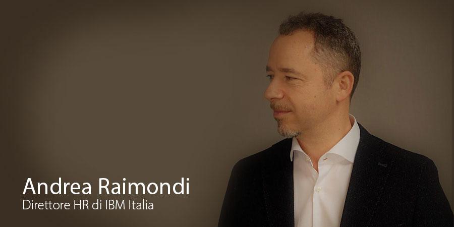 Andrea Raimondi direttore HR Ibm Italia