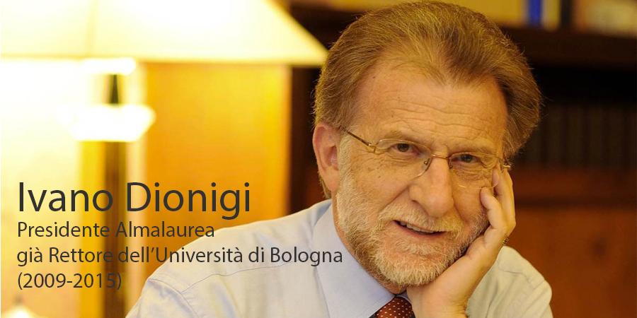 Ivano Dionigi Presidente Almalaurea
