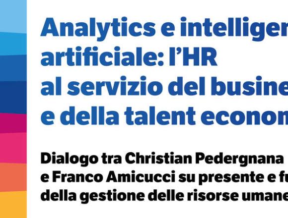 Analytics e intelligenza artificiale: l'HR al servizio del business e della talent economy