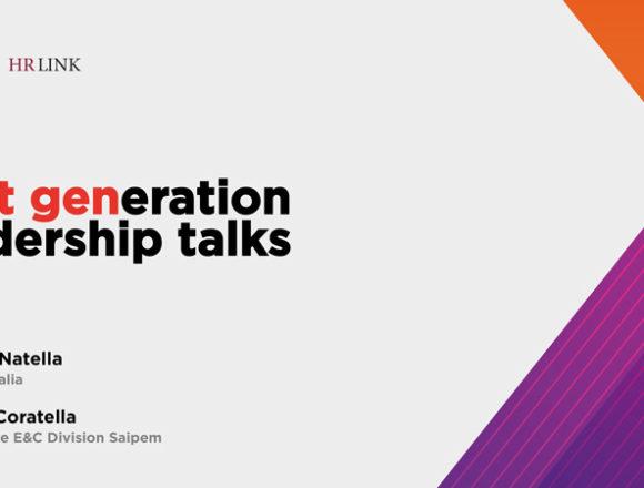 Next generation leadership talks: Maurizio Coratella