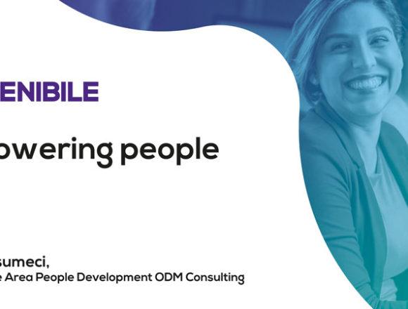 Verso l'organizzazione sostenibile: empowering people