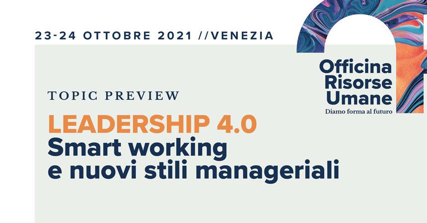 Leadership 4.0, il punto di vista degli HRD
